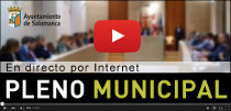 Pleno municipal en directo por YouTube